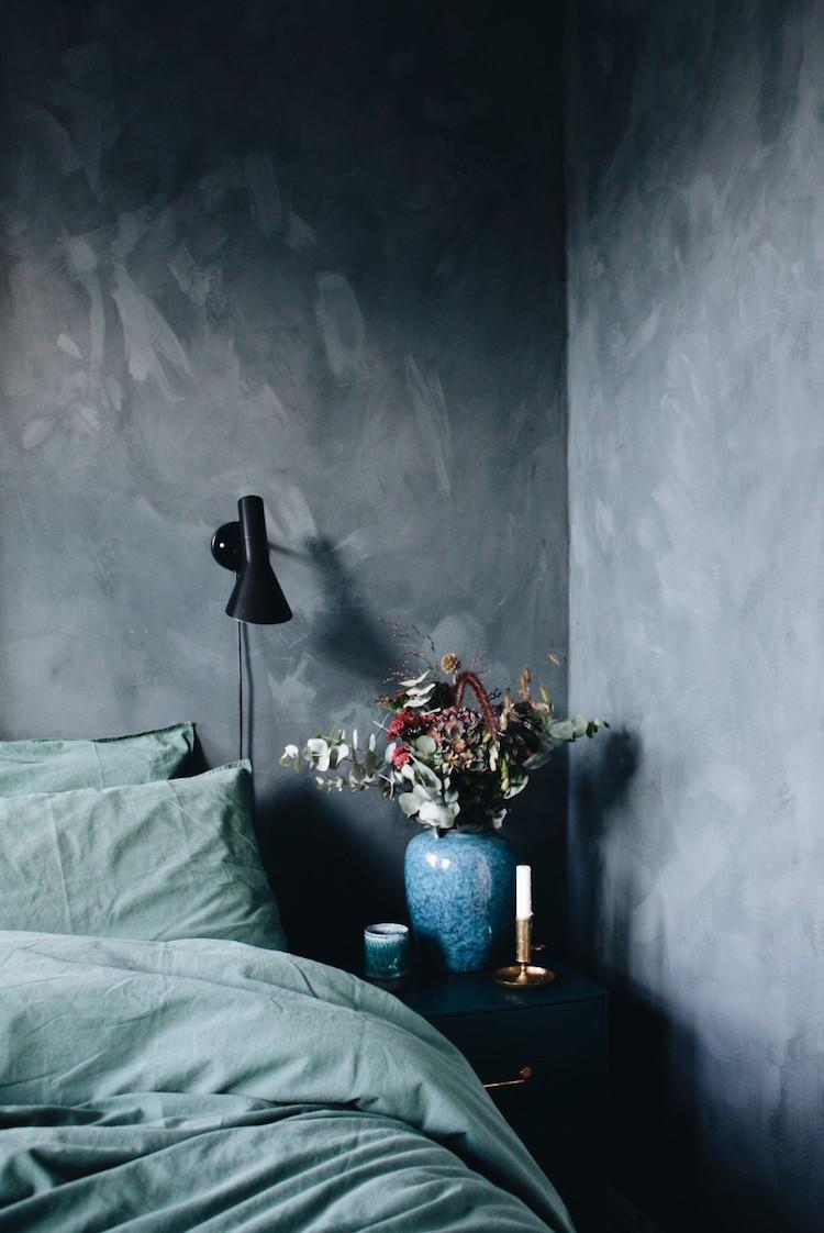 donkere slaapkamer