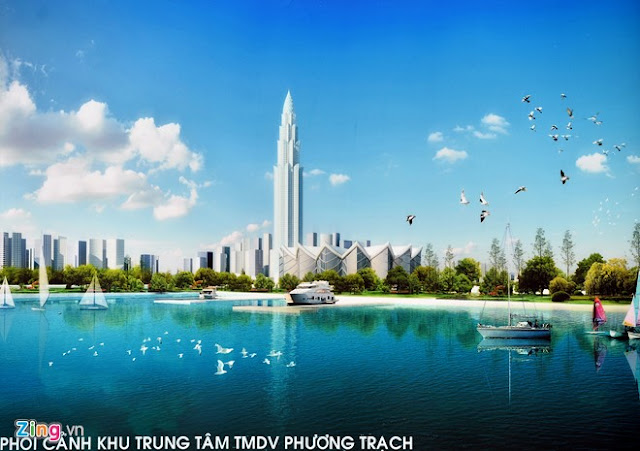 Tháp Phương Trạch cao 108 tầng