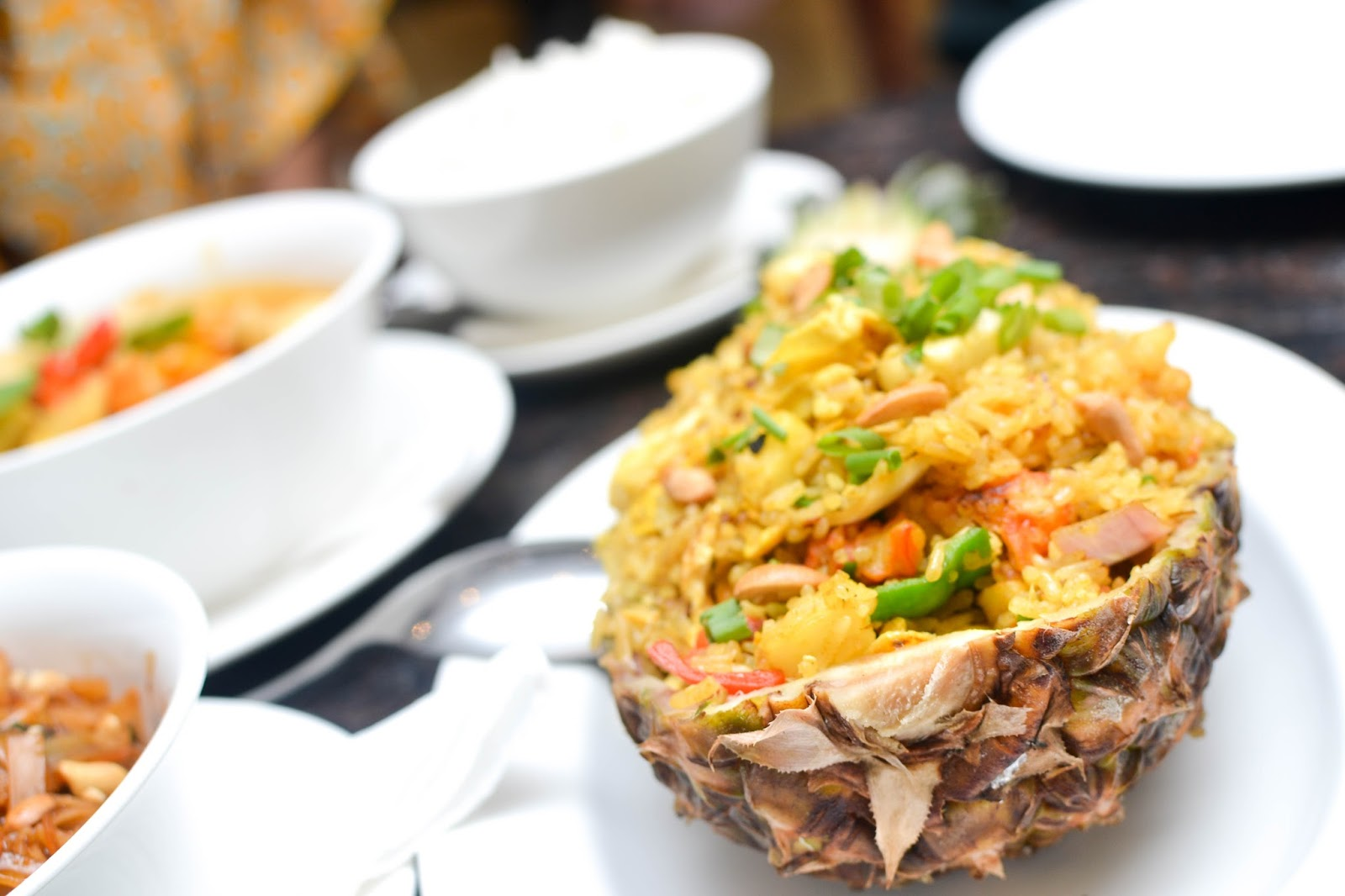 Prawns Pineapple Fried Rice in Lagos