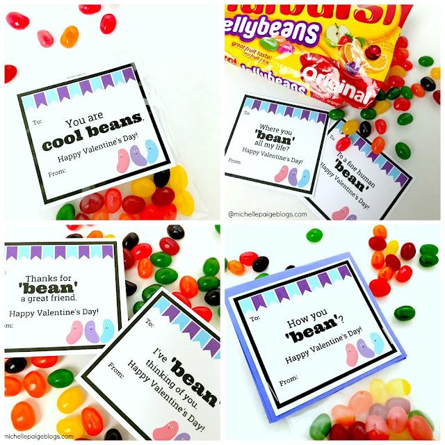 Jelly Bean Pun Printables @michellepaigeblogs.com