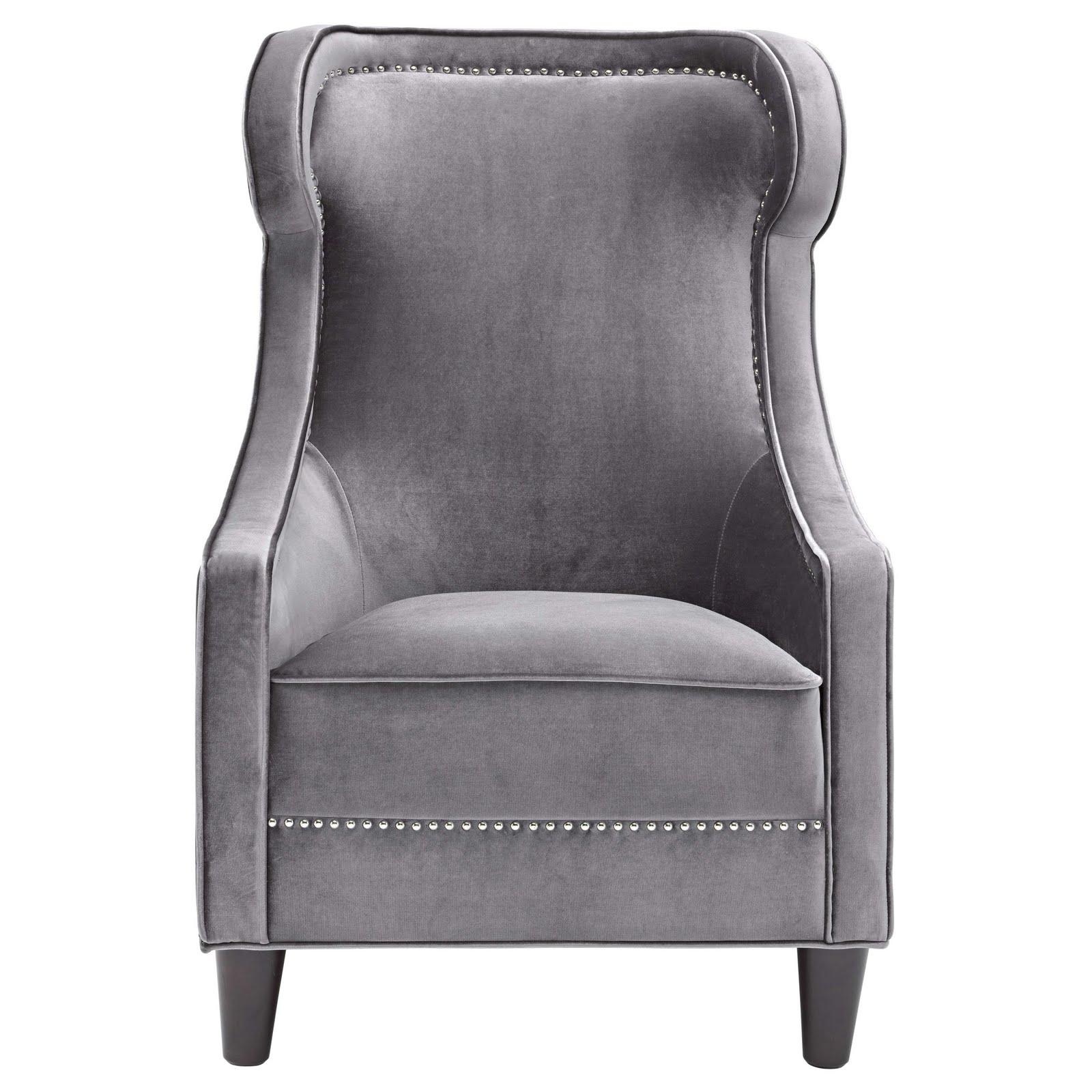 Black Velvet Chair A spot of shopping  Domayne