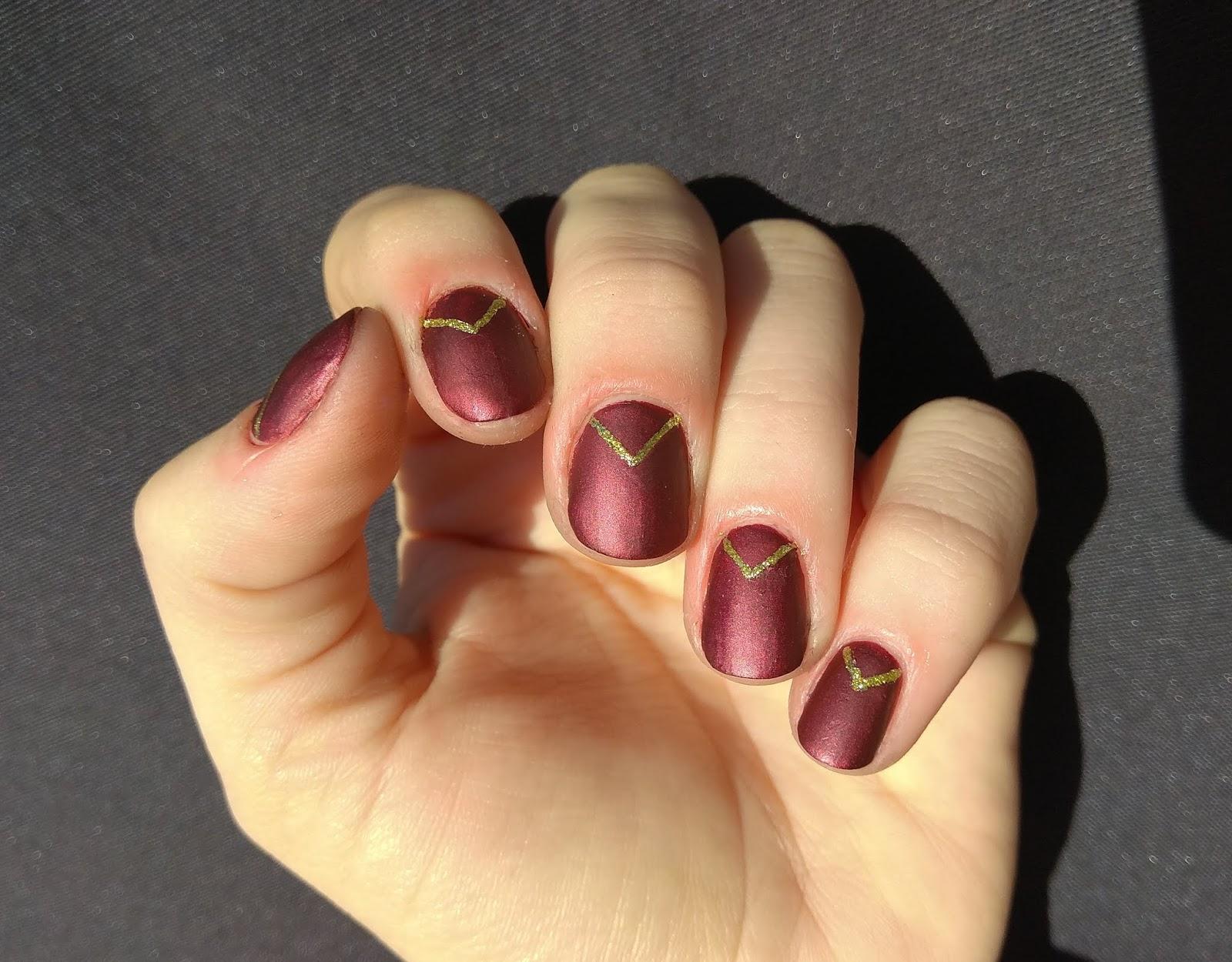 Gepe Nails Uñas De Nochevieja Propuesta 1 Rojo