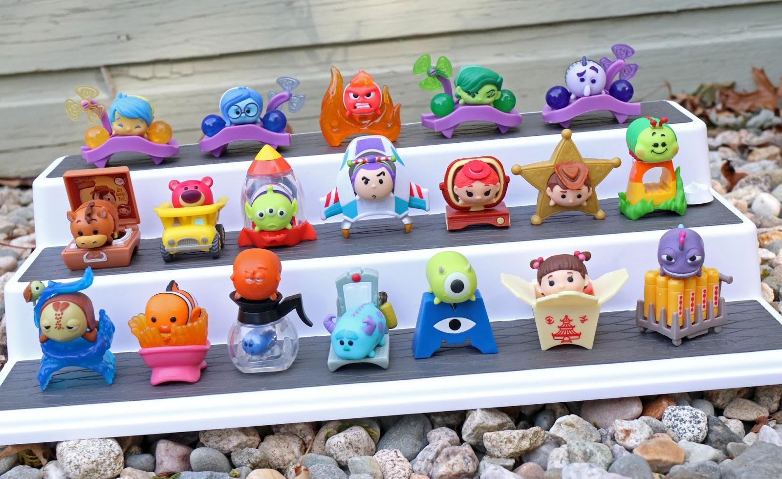 Disney Tsum Tsum Mystery Stack Packs pixar