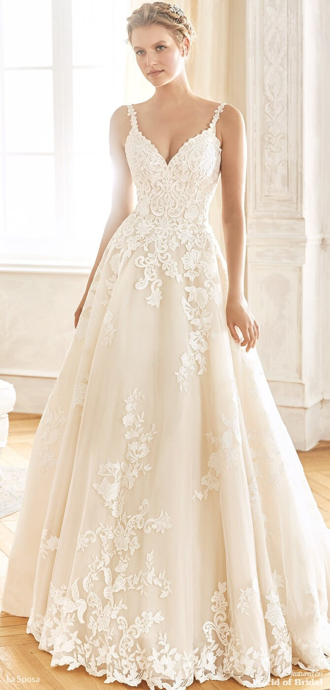 5bf07528ff88 La Sposa 2019 Princess wedding dress Princess skirt in tulle ...