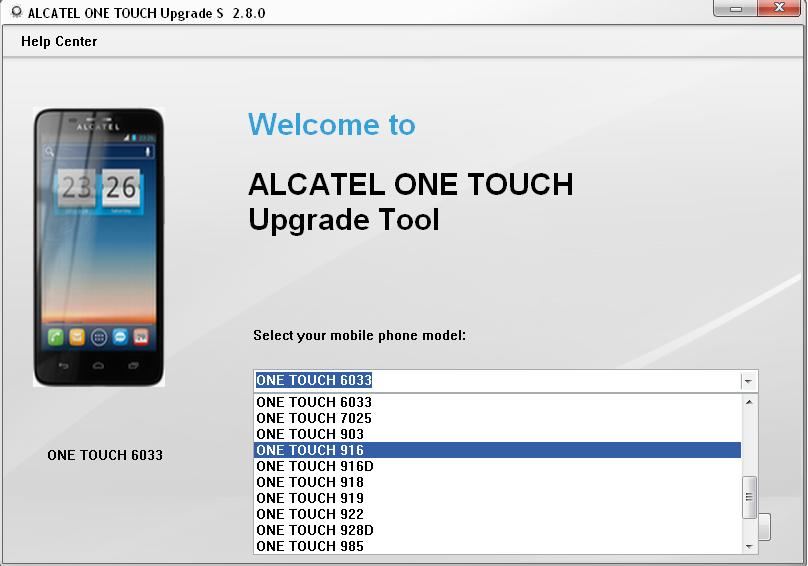 Firmware alcatel 4