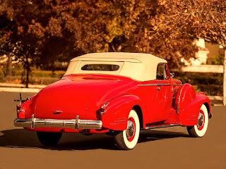 1938 Cadillac Convertible Coupe Rear