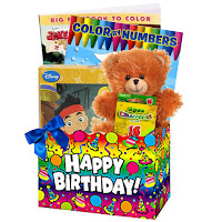 Food Free Kids Birthday Gift Basket