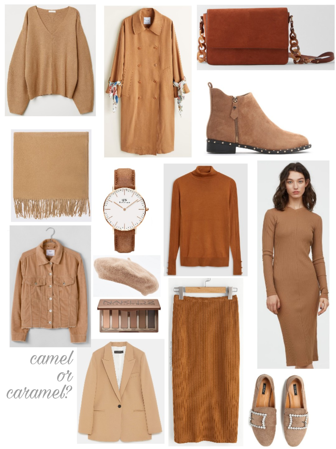 Camel or caramel autumn?
