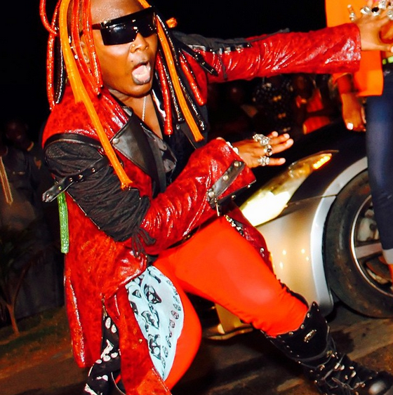 Charly Boy Shares New Colourful Photos