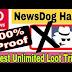 Newsdog app को hack कर के ज्यादा पैसे कैसे कमाए ।