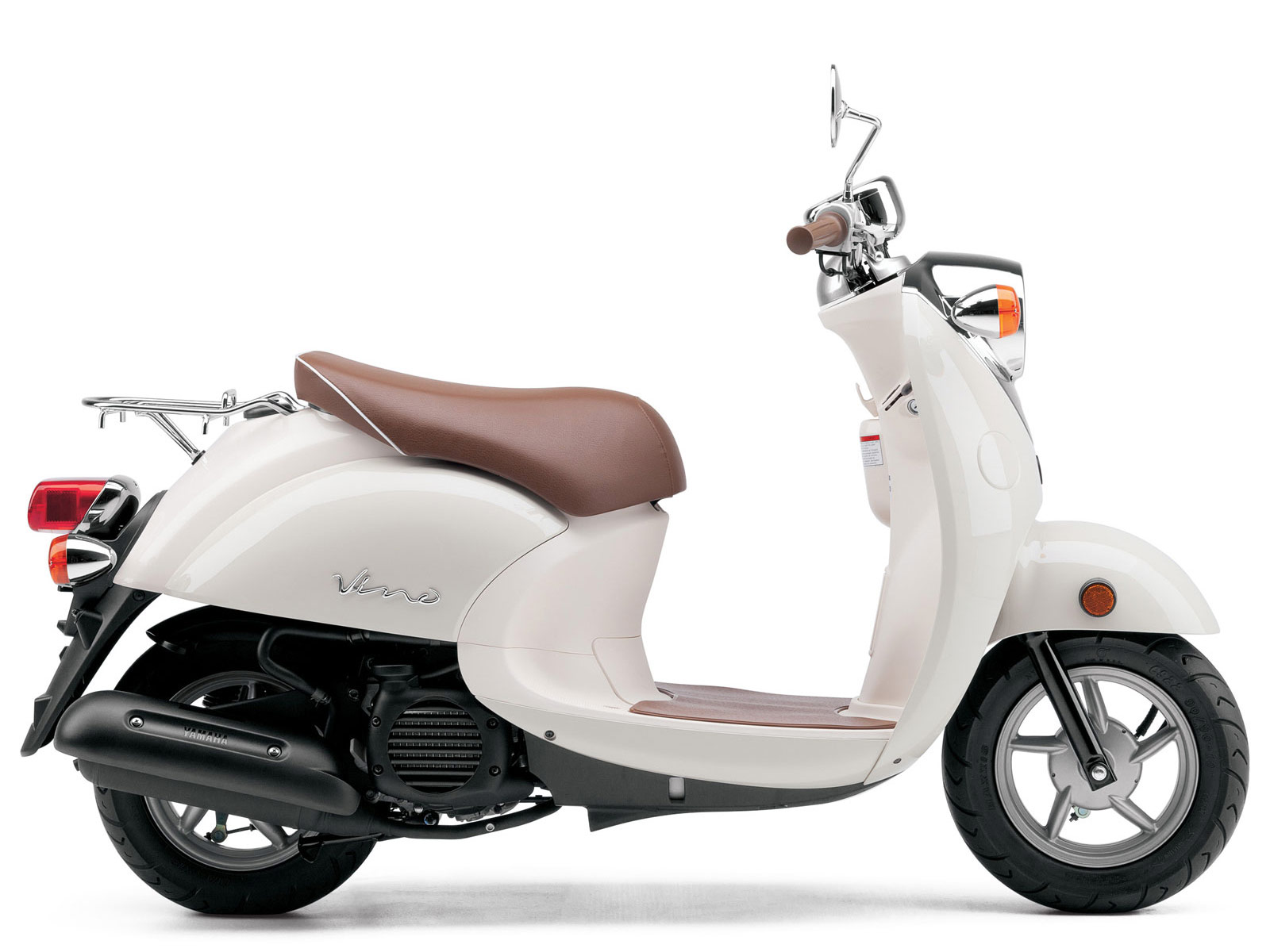 Yamaha pictures 2013 Vino 5 Classic Scooter Review