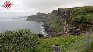 Escocia, Skye Island, Kilt Rock