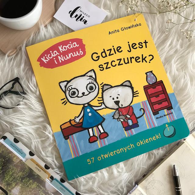 Anita Głowińska, Kicia Kocia i Nunuś. Gdzie jest szczurek?