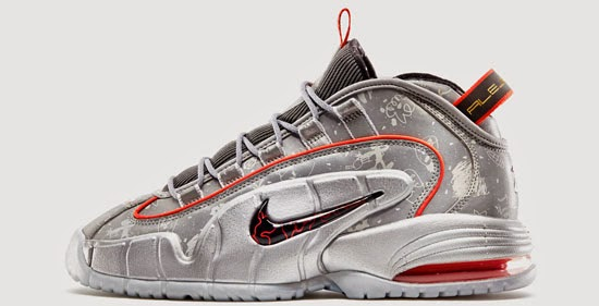 finest selection 63931 d9349 Designed by Alejandro Munoz, this Nike Air Max Penny I LE DB is a part of  the 2014 Doernbecher Freestyle Collection. Inspired by the San Francisco  49ers, ...