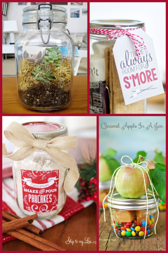 gift in a jar ideas