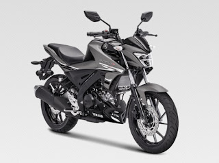 All New Yamaha Vixion R Matte Grey