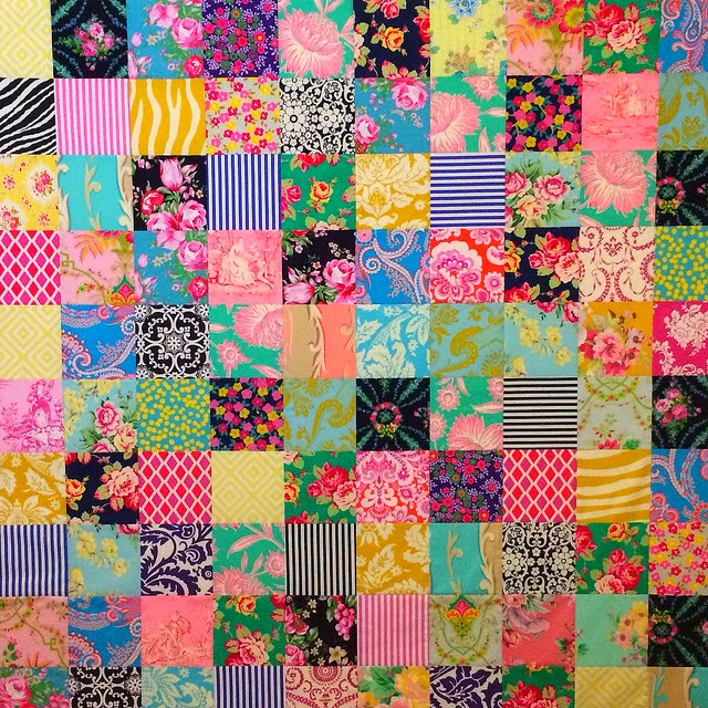 Bubbles - A Finished Quilt.