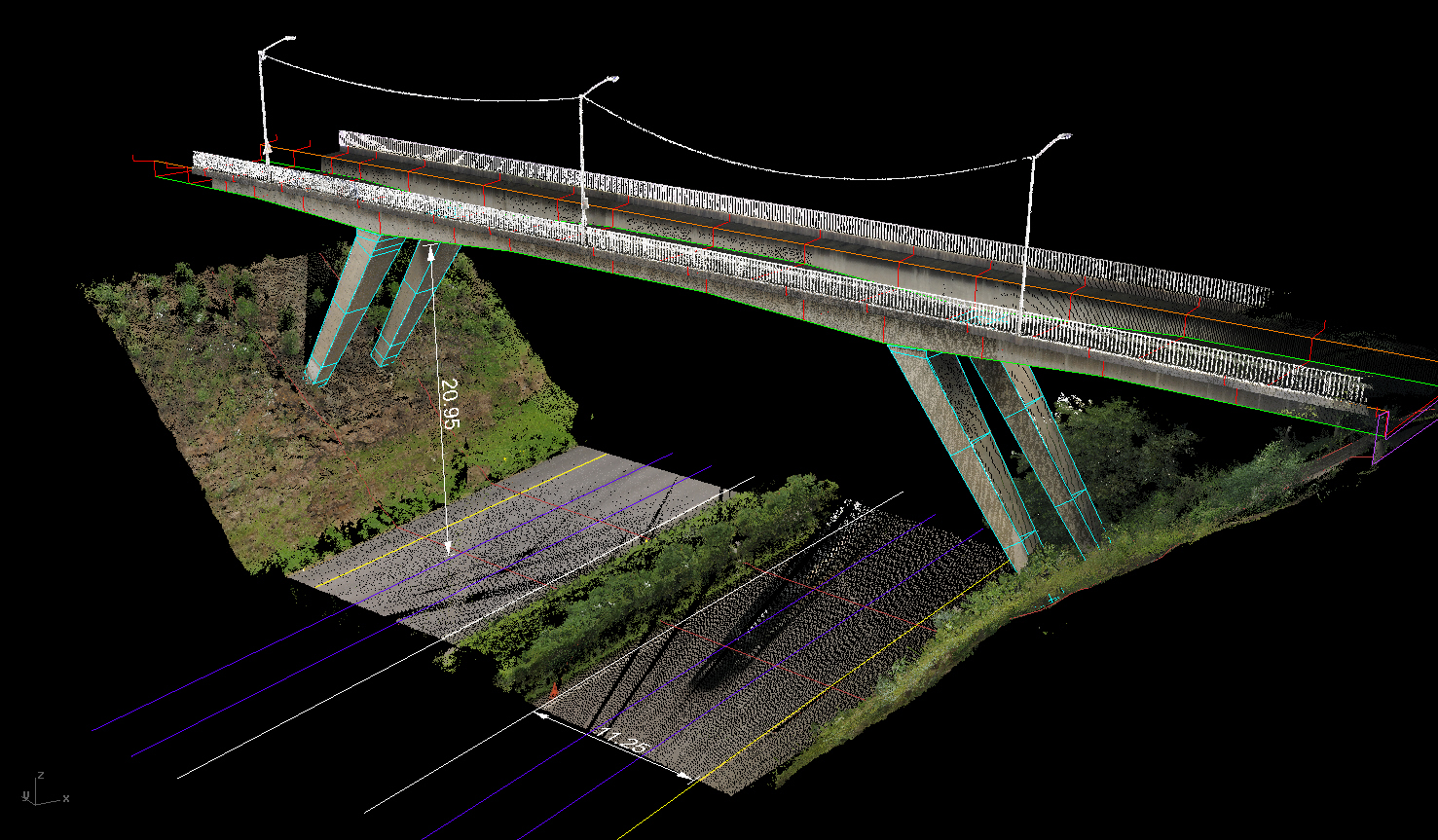 MHP Geomatics Blog: Laser Scanning - Bridges