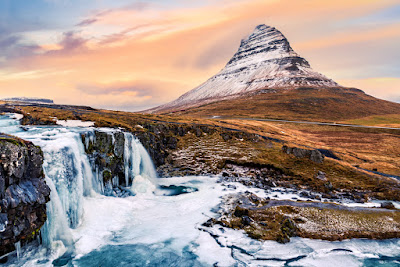 Kirkjufell is the famous mountain from Game of Thrones