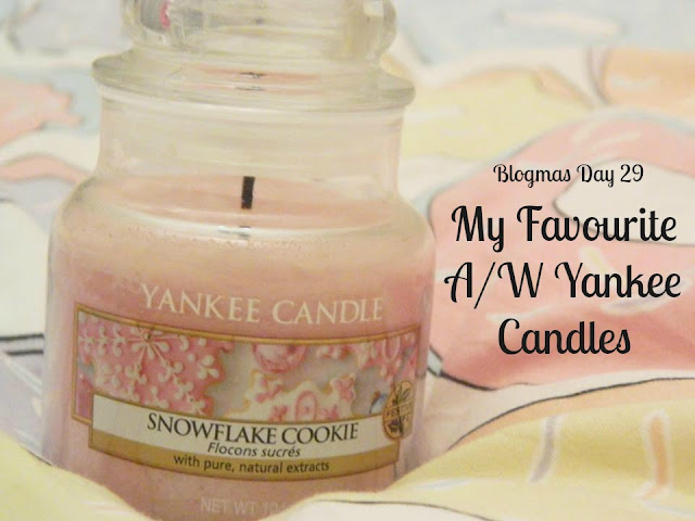 My Favourite Autumn/Winter Yankee Candles