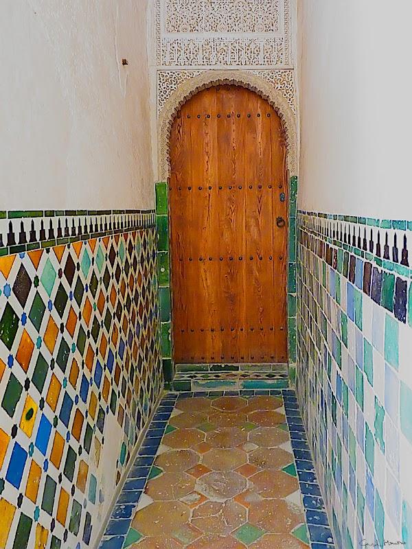 Puerta de la Alhambra.