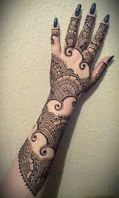 Beautiful Mehndi designs for fingers