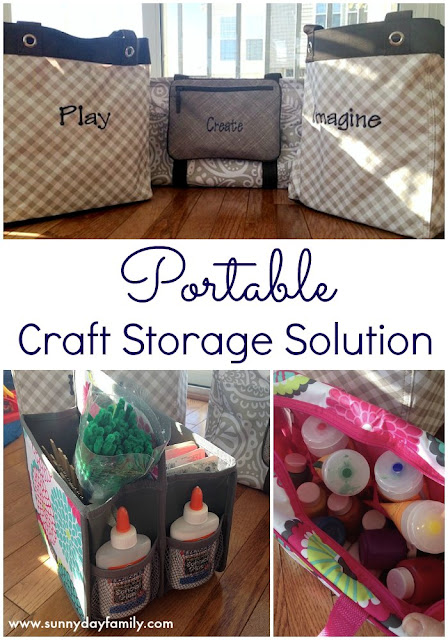 A portable, all in one solution for all your craft supplies! Customize and personalize it to fit your decor and style.