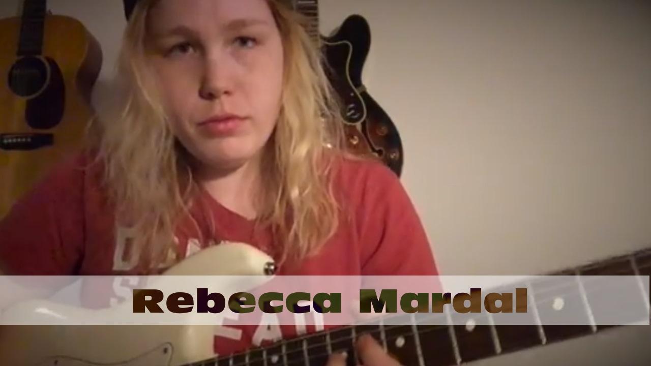 Rebecca Mardal: Guitar Solo Over Chill Pop Instrumental Beat