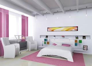 kamar tidur kecil tapi indah