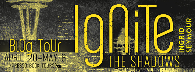 Book Tour: Ignite the Shadows by Ingrid Seymour-with review and giveaway