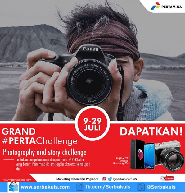 Kontes Foto Perta Challenge Terbaru..Buruan !
