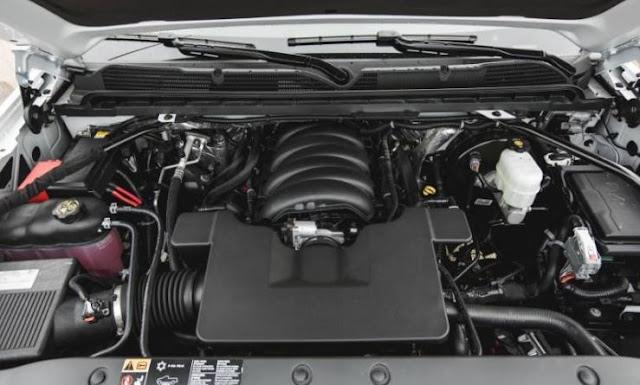 2017 Chevrolet Silverado 1500 Engine