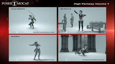 High Fantasy Volume 1 - Fantasy Animations for Genesis 3 and Genesis 8