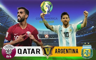 مشاهدة مباراة الارجنتين وقطر بث مباشر 23-6-2019 كوبا امريكا