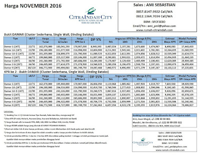 harga-bukit-damar-citra-indah-city-november-2016