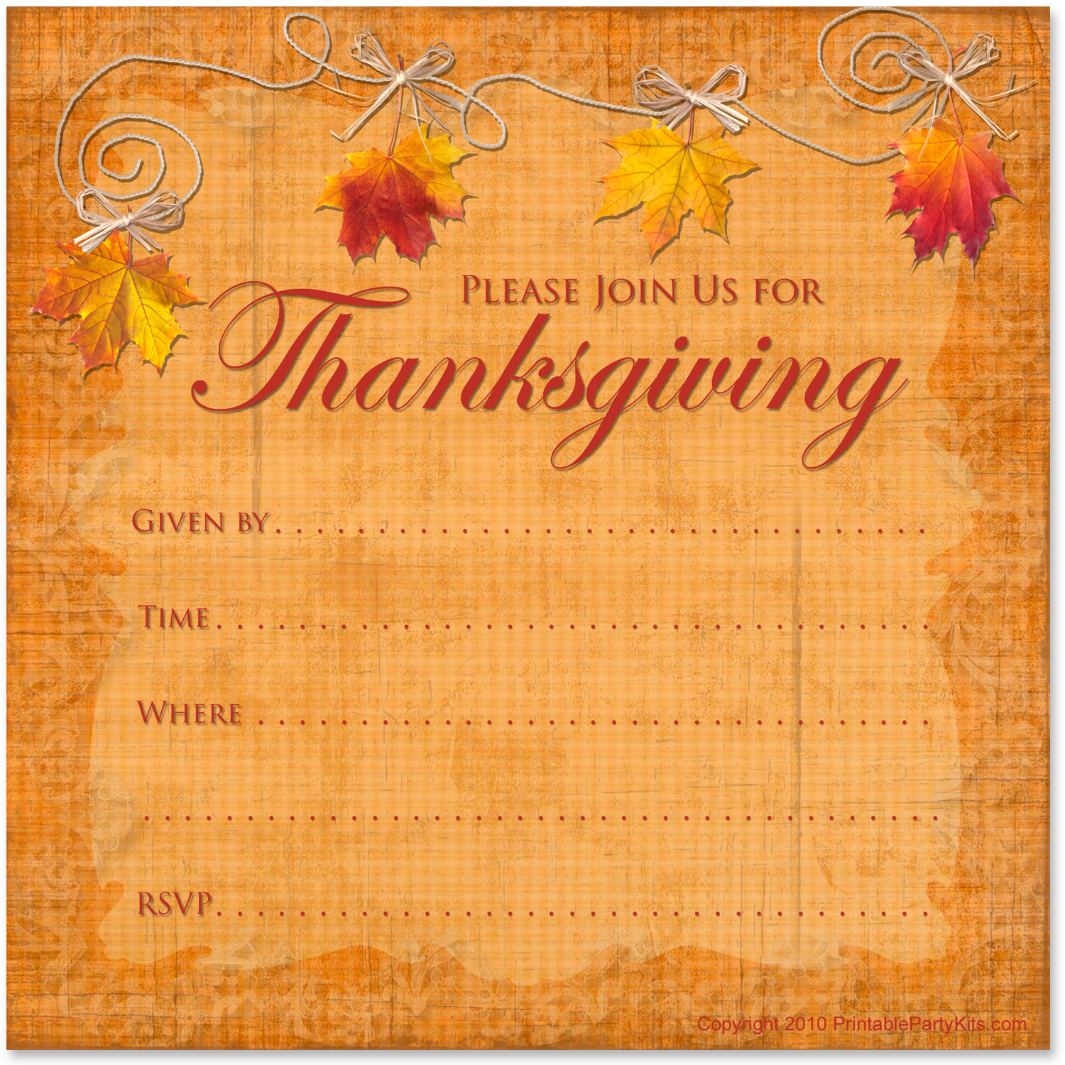 image relating to Printable Thanksgiving Invitations identify Cant uncover subsution for tag [short article.system]--\u003e Printable