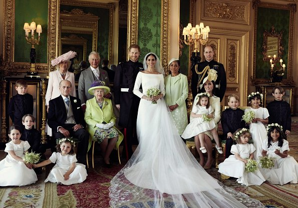 New Photos of The Duke and Duchess of Sussex, Princess Charlotte, Prince George, Kate Middleton, Meghan Markle, Queen Elizabeth