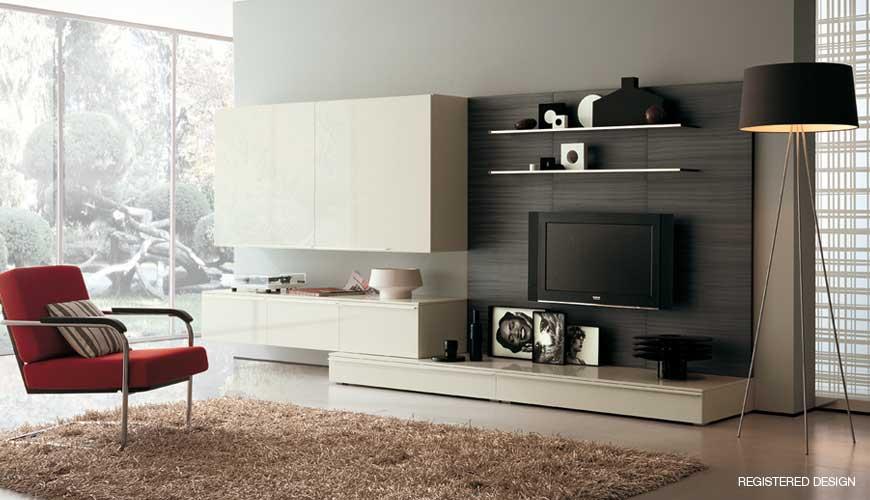 Modern Living Room - Home Design Elements