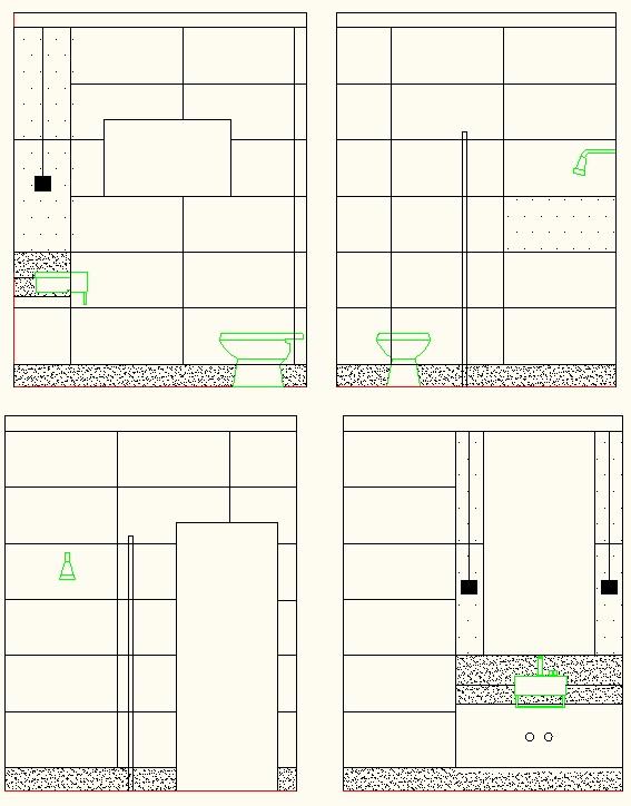 Construindo Um Castelinho Paginação Dos Banheiros Parte 2