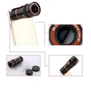 8x zoom obiettivo fotocamera