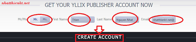 Yllix kiếm tiền thụ động cho các website/blogger/Wordpress thủ thuật
