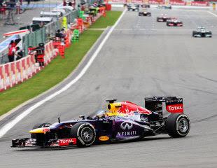 Sebastian Vettel Wins Belgian Grand Prix 2013