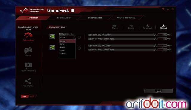 Fitur GameFirst III Bermain Game Semakin Nyaman