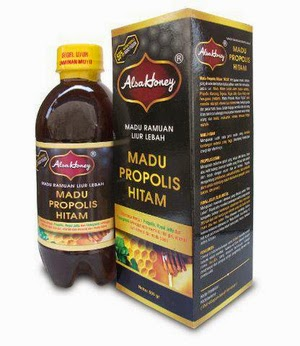 Madu Propolis Hitam Alsa Honey An-Nuur