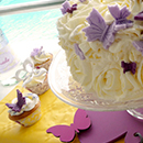 Goûter d'anniversaire Table Papillon / Butterfly sweet table
