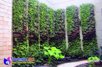 Jasa Pembuatan Taman Vertikal (Vertical Garden)