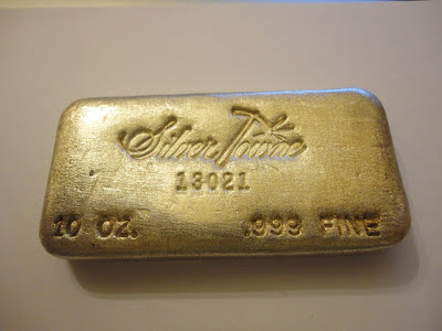 Silver Investment News Rare Poured And Other Silver Bars