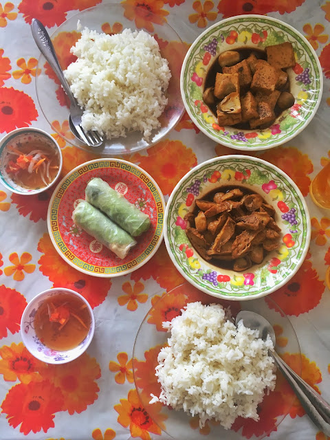 Vegetarian food, Ho Chi Minh, Vietnam