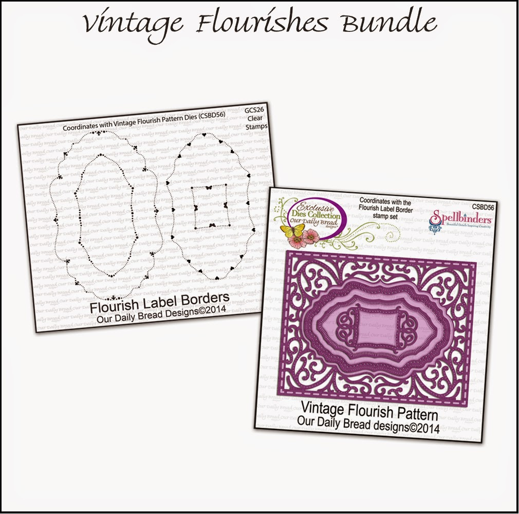 Stamps - Our Daily Bread Designs Vintage Flourishes Bundle