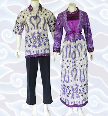 Model Gamis Batik Sarimbit